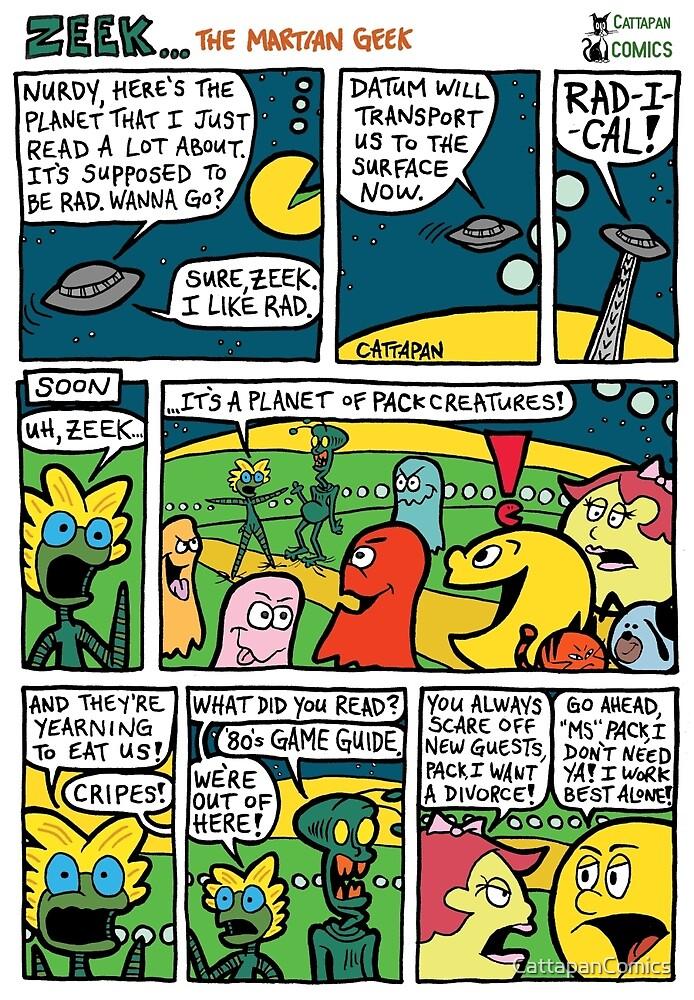ZEEK ... The Martian Geek - planet PACk comic by CattapanComics