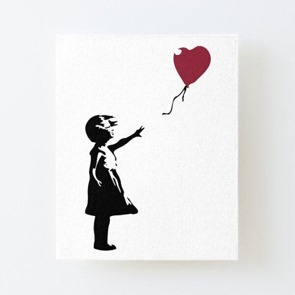 Fille Avec Ballon Rouge, Banksy, Streetart Street Art, Grafitti, Oeuvre, Design Pour Hommes, Femmes, Enfants Impression montée sur toile