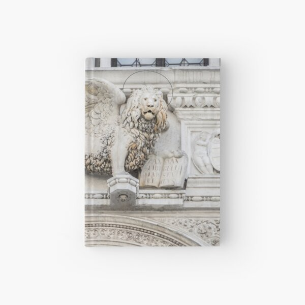 Classic Venetian - Saint Marks Winged Lion - Leone Alato di San Marco Hardcover Journal