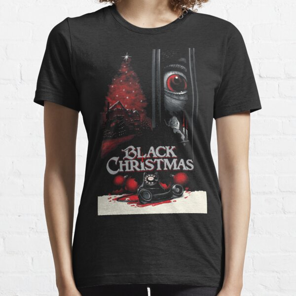 "Black Christmas - ""25th Anniversary""【Horror】 Design (1974)☆VHS Gasm Video☆ Essential T-Shirt"