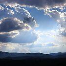 Summer clouds over Brindabella Range by Tim Coleman