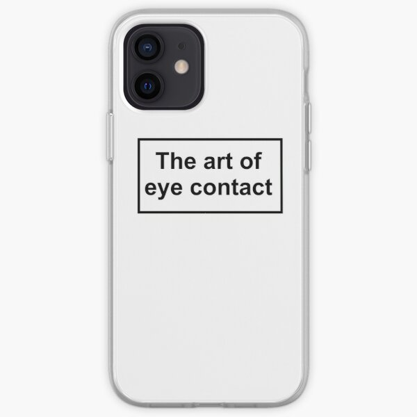 The art of eye contact iPhone Soft Case