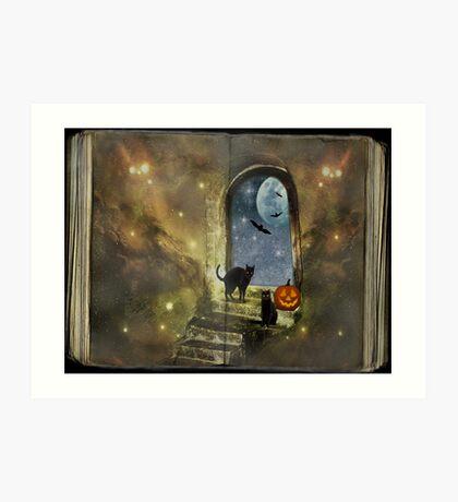 Halloween stories Kunstdruck