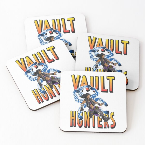 Amara The Siren Vault Hunters Borderlands 3 The Tiger of Partali Coasters (Set of 4)