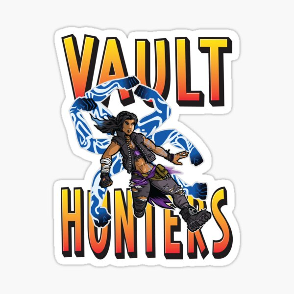 Amara The Siren Vault Hunters Borderlands 3 The Tiger of Partali Sticker