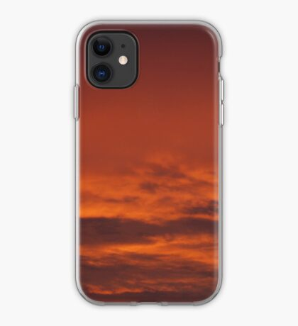 Red Sky - iPhone Case iPhone Case