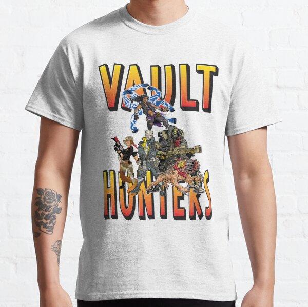 Vault Hunters Borderlands 3  FL4K Beastmaster Amara Siren Moze Gunner Zane Operative Classic T-Shirt