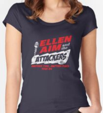 Ellen Aim & the Attackers Tour 84 Women's Fitted Scoop T-Shirt