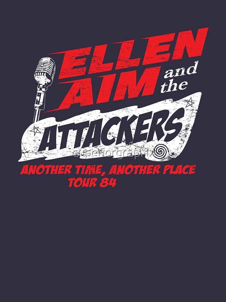 TShirtGifter presents: Ellen Aim & the Attackers Tour 84 | Unisex T-Shirt