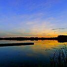 Hasse Lake Sunset, Alberta Canada by Jessica Chirino Karran