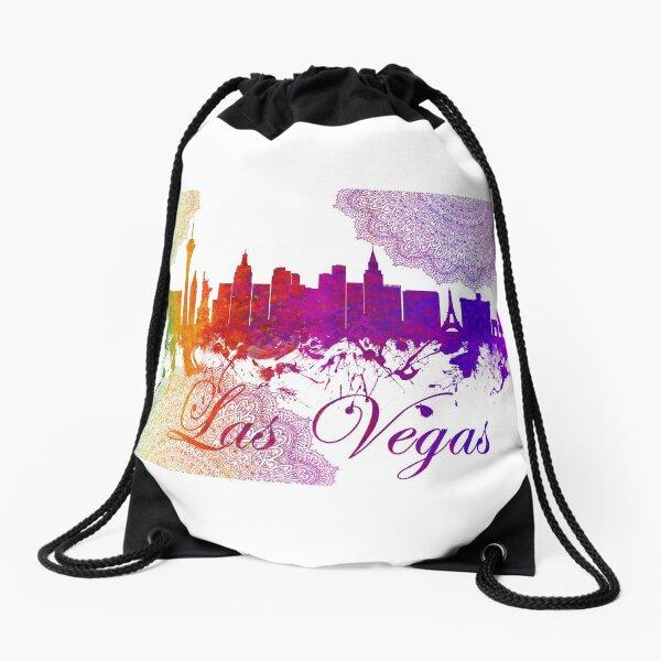 Las Vegas Nevada Skyline - 3 Drawstring Bag