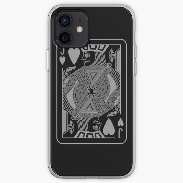 Jack of Hearts iPhone Soft Case