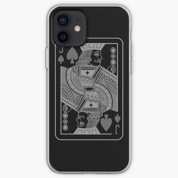 Jack of Spades iPhone Soft Case