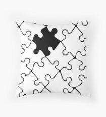 Jigsaw Throw Pillow
