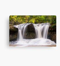 Indiana's Upper Cataract Falls Canvas Print