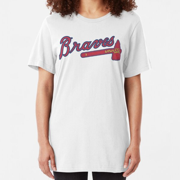 braves-atlanta Slim Fit T-Shirt