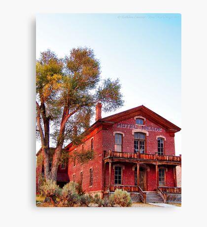Hotel Meade 2 (Bannack, Montana, USA) Canvas Print