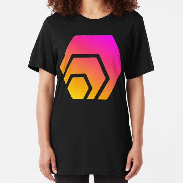 HEX Coin Logo Slim Fit T-Shirt