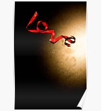 Love Ribbon Poster