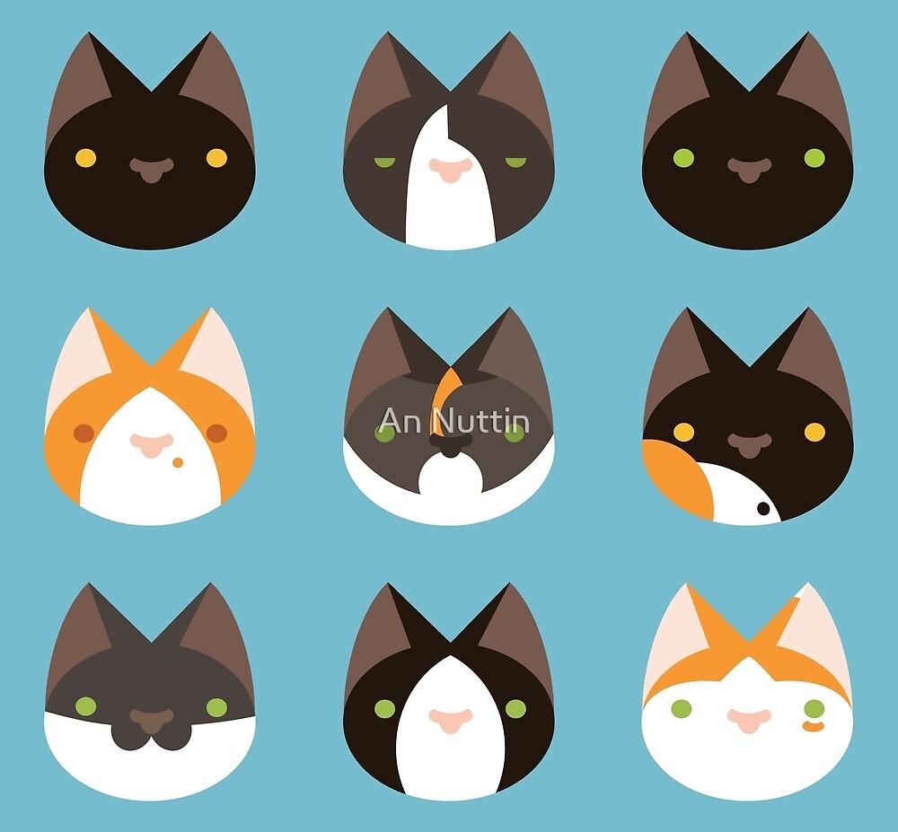 Kitties pattern by An Nuttin