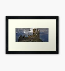 The History in this Landscape. Framed Print