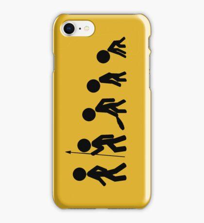 Evolution of [stick] Man (iPhone Case) iPhone Case/Skin