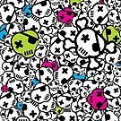 Funky Skulls by MaShusik