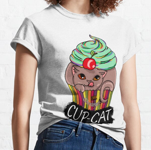 Cup-Cat, the sweet sweet tooth Classic T-Shirt