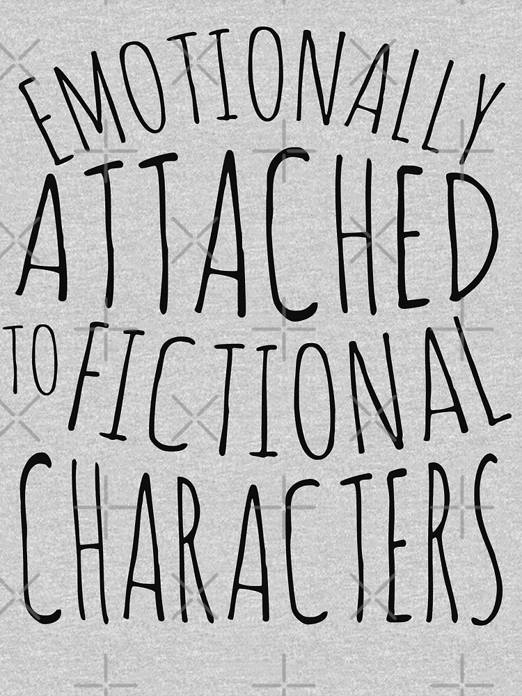 emotionally attached to fictional characters #black by FandomizedRose