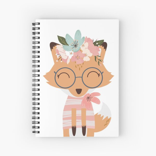 Little Foxy Lady Spiral Notebook