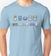 Nintendo consoles Slim Fit T-Shirt