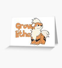 Growlithe  Greeting Card
