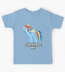 "Rainbow Dash - ""Chicks"" Kids Clothes"