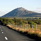 Country Road Connemara Ireland by JoeTravers