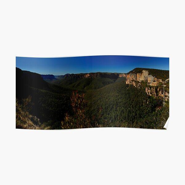 Govett's Leap Lookout, Blackheath, NSW. Poster
