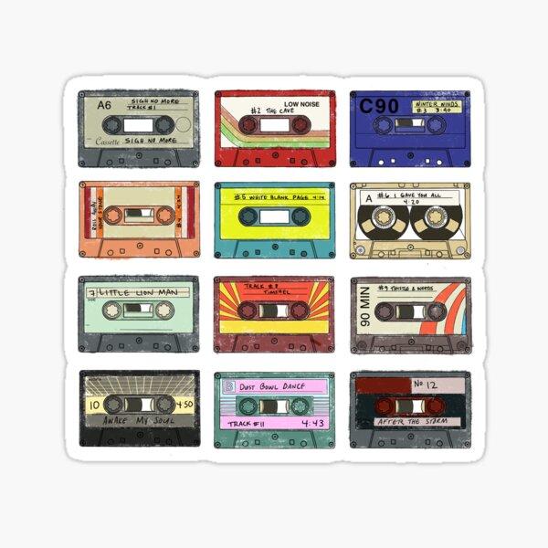 No suspires más cintas de cassette Pegatina