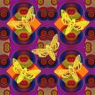 Butterflies Pattern W by Vitta