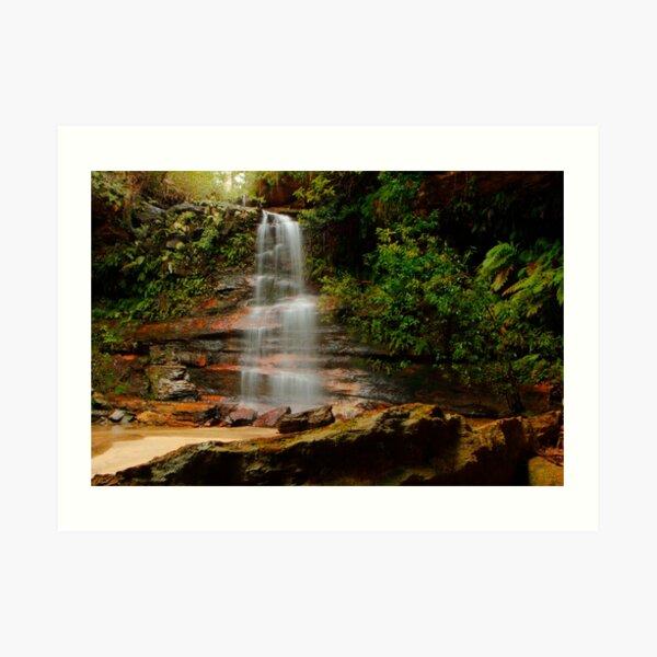 Federal Falls, New South Wales. Art Print