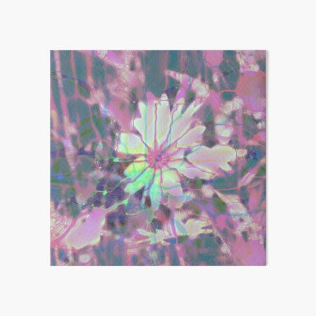 Floral abstraction Art Board Print