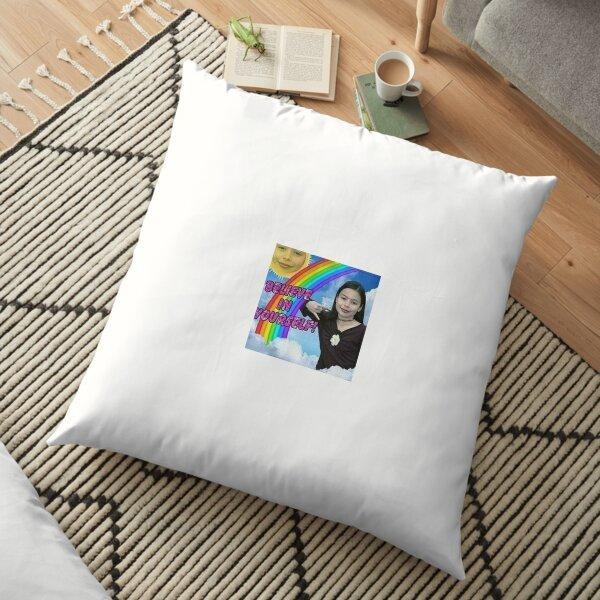 Icarly believe in yourself Floor Pillow