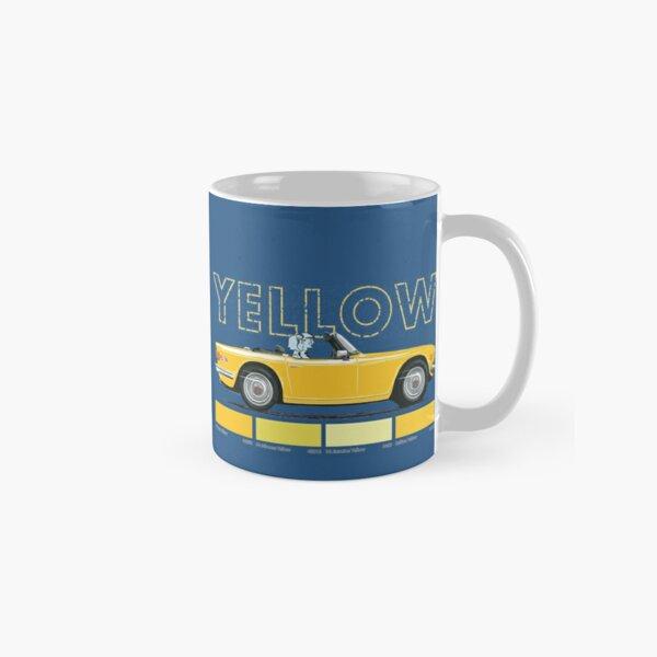 Yellow Triumph TR6 – a colour you love Classic Mug