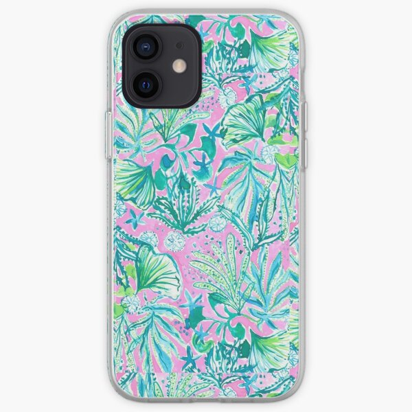 lilly pulitzer print  iPhone Soft Case