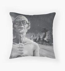NoHo Noir: Walking After Midnight Throw Pillow