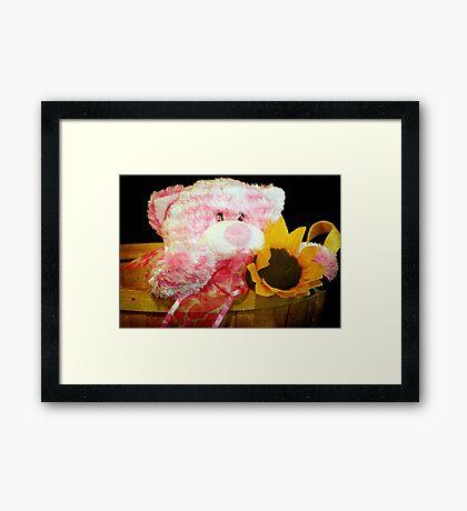 Love in a basket © Framed Print