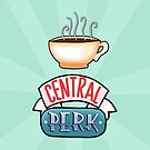 Central Perk by Mhaddie
