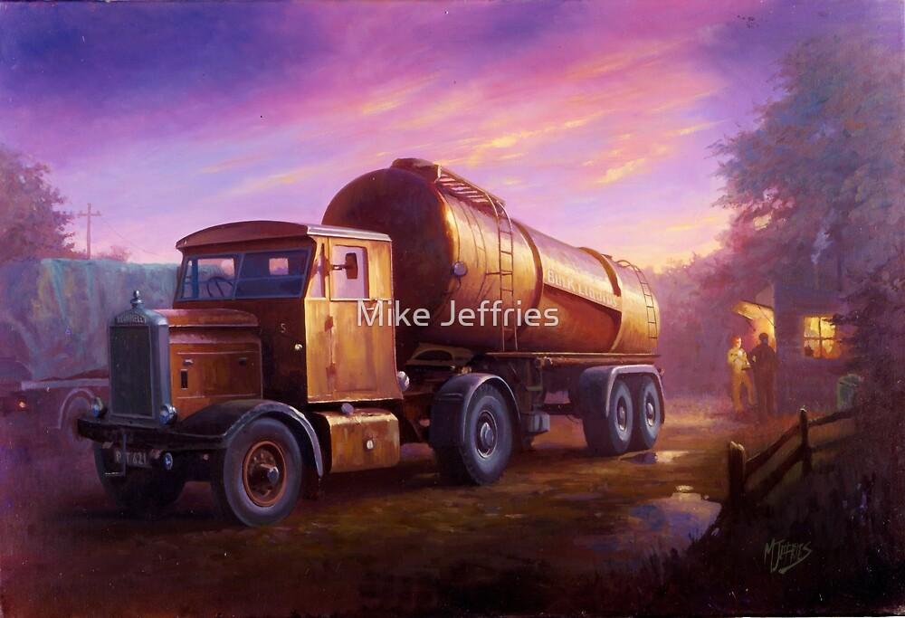 Truckstop 1954 by Mike Jeffries