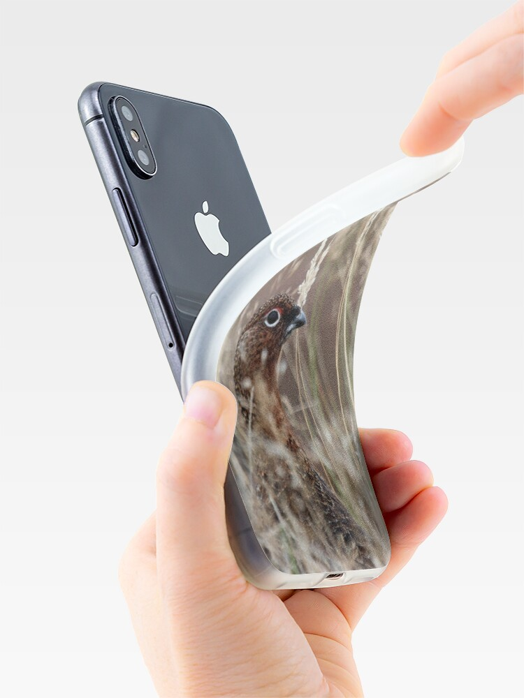Alternate view of Grouse pose iPhone Case & Cover