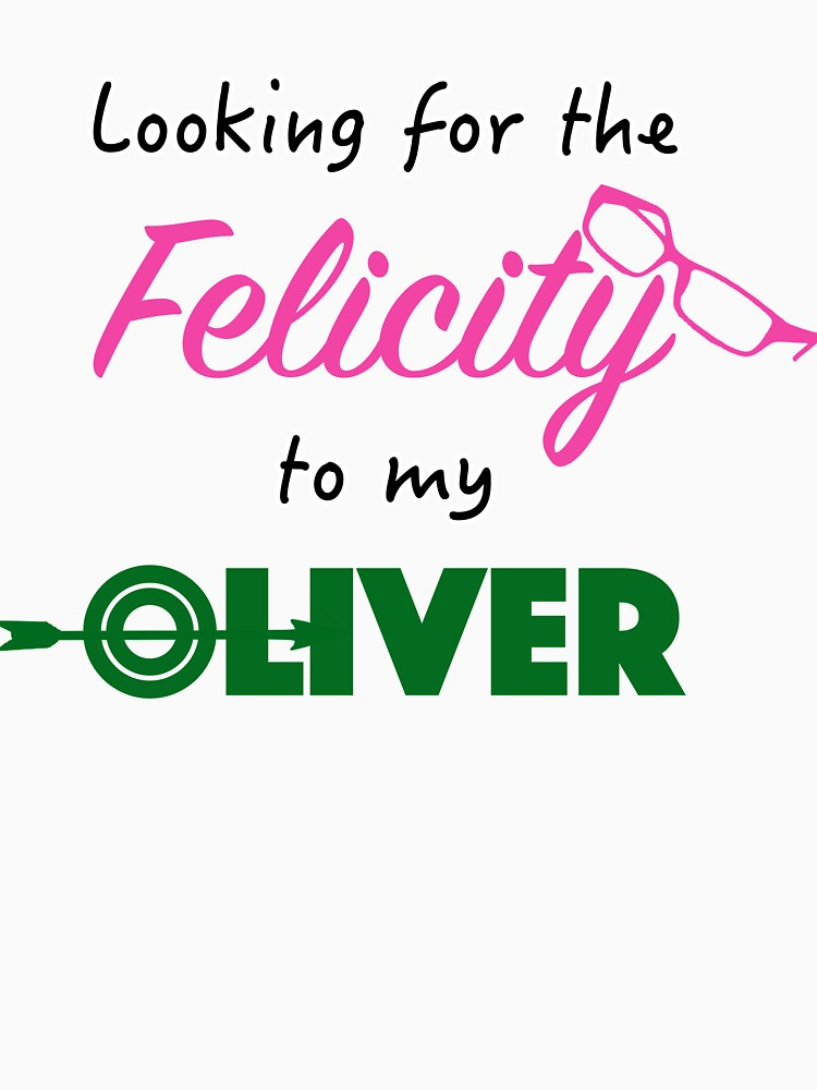 Felicity to Oliver! MORE OLICITY by mustang1