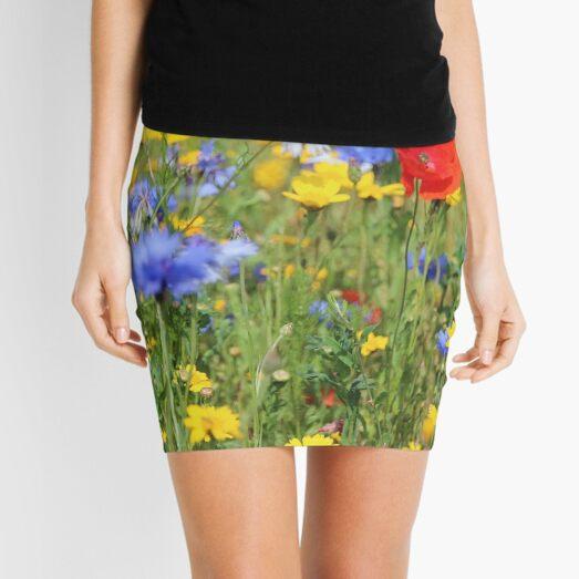 Wildflowers Mini Skirt