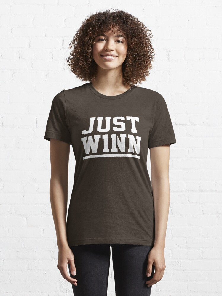 Alternate view of Just Winn Essential T-Shirt